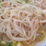 うれっ子 - タンタンメン麺拡大