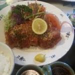 にっぽんの洋食 江戸一 - 2013/03/08 12:10訪問 焼きトンカツ定食¥1,250