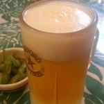 にっぽんの洋食 江戸一 - 2013/03/08 12:10訪問 生ビール