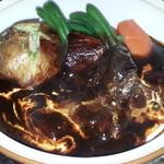 にっぽんの洋食 江戸一 - 2013/02/15 12:30訪問 ビーフシチューのアップ