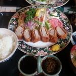 にっぽんの洋食 江戸一 - 2013/05/28 12:30訪問 ヒレカツ定食\1,200