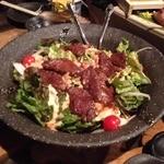 おっきゃがり - 牛ハラミ入りサラダ
