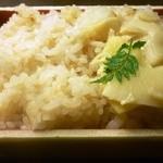 美濃吉 - 若筍の炊き込みご飯