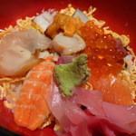 明己悟 - 【海鮮ちらし寿司】アップ♪