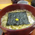 稲にわうどん 割烹 日本橋 古都里 - 暖かい稲庭うどん
