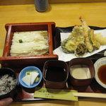 稲にわうどん 割烹 日本橋 古都里 - 特膳 水天 1700円