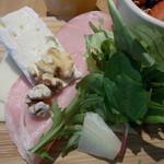 ル パン コティディアン - ファーマーズにはハムとチーズ