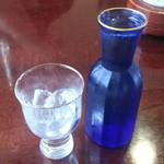 Kinari - 2013/07/05 13:05訪問 日本酒(秋田)をロックで。\700位(不確)