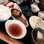 丹波篠山うどん 一真 - 春菜のてんぷら定食