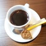 炭焼きイタリアン酒場 炭リッチ - セットのホットコーヒー 2015/04