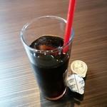 炭焼きイタリアン酒場 炭リッチ - セットのアイスコーヒー 2015/04