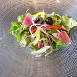 ミヤマ - 料理写真:農園サラダ
