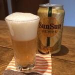 油揚げ - オーガニックビール