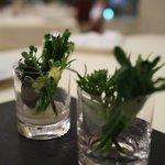 HANZOYA - アミューズ:季節の青菜