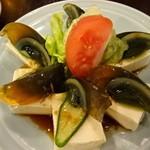 とらの穴 - ピータン豆腐