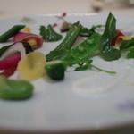 37114813 - 前菜:旬の有機野菜のガルグイユ、春の香り