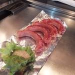 広島流お好み焼き 秀 - ウインナー450円