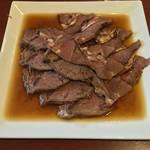37115678 - 五香牛肉(冷製牛すね、牛タンの香り鹵水掛け)(800円)+8%