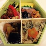 日本ばし大増 - 料理写真:折詰弁当わかば