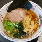 風知空知麺 - 煮干し中華そば 醤油