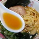 風知空知麺 - 煮干しがじんわり効いてるスープ