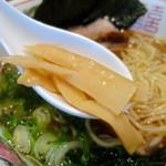 風知空知麺 - メンマ
