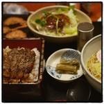 レストラン車留夢 - 料理写真:恋の車留夢坂セット。 風車でお馴染み。