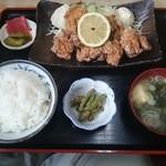 なべさん食堂 - とり唐揚定食