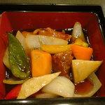 迎日楽 - 酢豚 ※A定食より