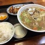 醤醤 - たんめん定食 720円♪(第七回投稿分①)