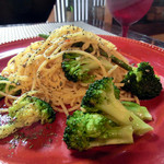 タベルナ44 - 旬野菜のペペロンチーノ