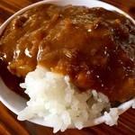 焼肉水源 - カレーライス(≧∇≦)