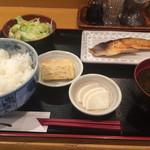 和菜酒だいにんぐみなみ - 【2015年4月追加】銀ダラ西京焼き定職(1300円)