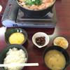 きくや旅館 - 料理写真:七面鳥鍋定食