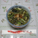 布引庵 - 「山菜そば」です。