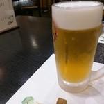串とも - 生ビール 中