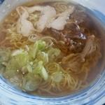 蕎麦屋やまぐち - 肉中華(温)大盛