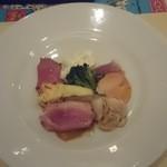 トラットリアピッティ - ディナーのセットの前菜