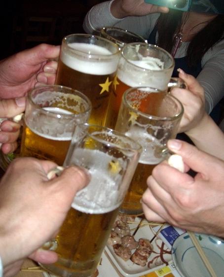 ぼたん - 1杯50円の生ビールで乾杯♪