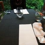 daininguryuu - 料理が運ばれる前のテーブル