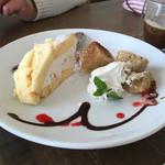 ロッサ - アイスクリームのズコットとシフォンケーキ