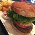 Tity Diner - タルタルソースバーガーBセット