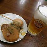 37131780 - おでん&生ビール@おがわ(2015年3月27日)