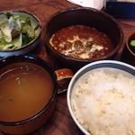 ヒキダシ カフェ - お肉の定食(ビーフシチュー)