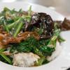 慶楽 - 料理写真:牛肉菜飯【2015年4月】