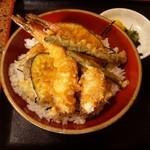 活魚村 海彦 - 「天丼」です。