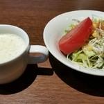 37133953 - サラダ&スープ