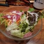 牛たん炭焼 利久 - 牛タンちょっと贅沢なシチュー   サラダ