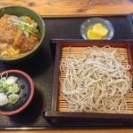 江戸そば 梅の木 - ランチセット