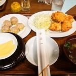 一芳亭 - えび天 定食